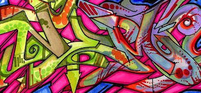 GRAFFITI ALPHABET,GRAFFITI ART