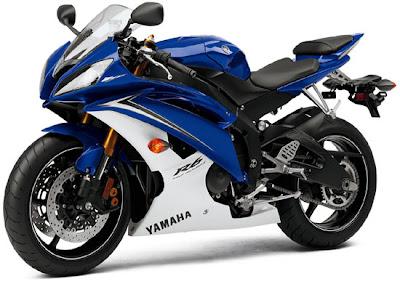 2010 Yamaha YZF-R6 Motorcycle