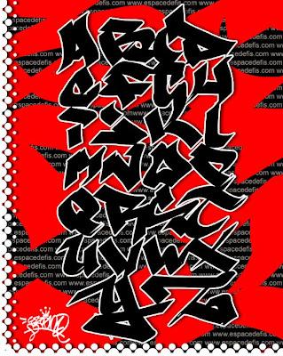 Letter A-Z in Alphabet  Graffiti,graffiti alphabet