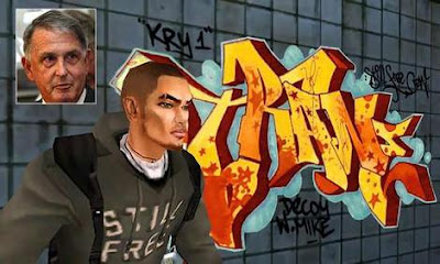 Ecko graffiti, graffiti letters