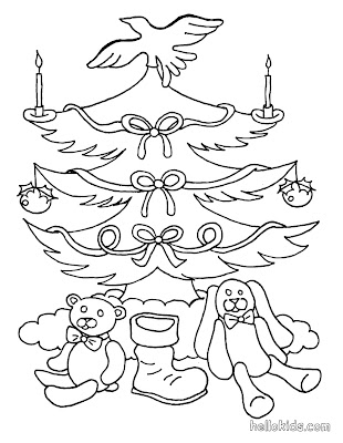 Christmas Coloring Pages,Christmas tree Coloring page