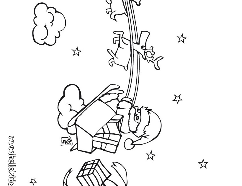 disney sledding coloring pages-#34