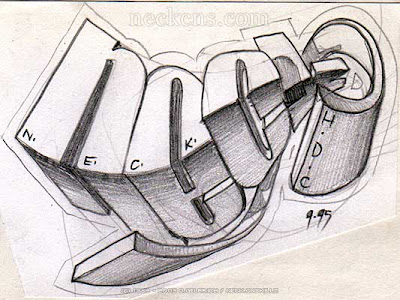 graffiti sketches,3d graffiti