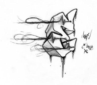 graffiti letters z. graffiti letters t.
