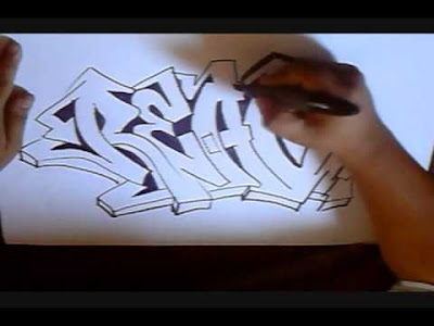 how to graffiti, graffiti alphabet letters