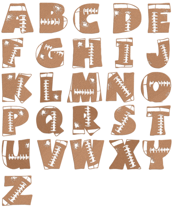 Brungki Different Designs For Letters