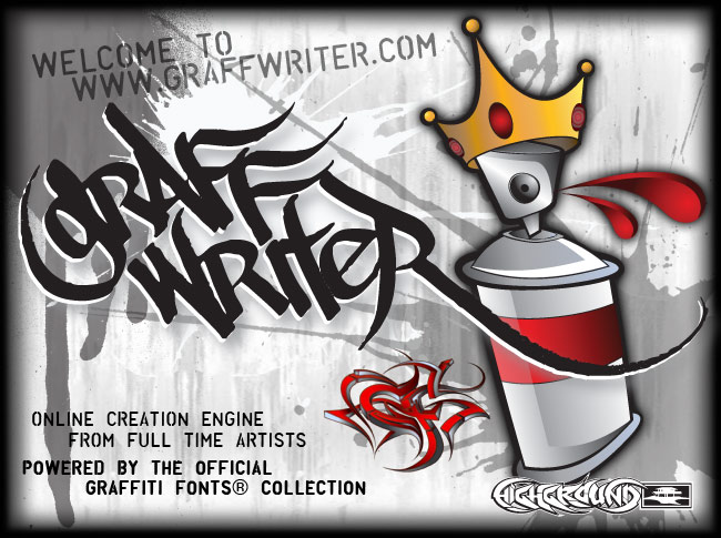 Graffiti creator is a tool