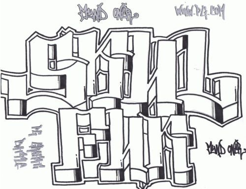 how to draw graffiti letters alphabet. How to Draw Graffiti Art ?