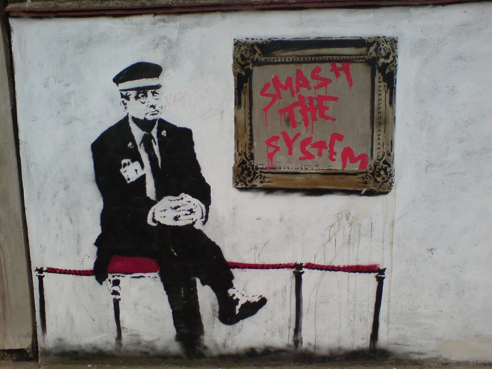 Banksy Graffiti Street Art