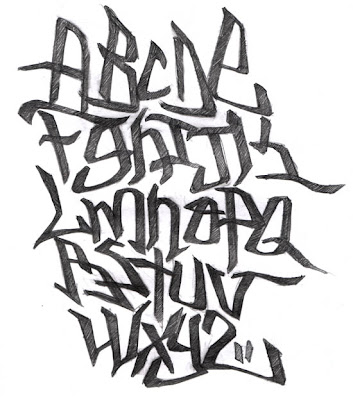 graffiti art de. Graffiti Alphabet,letras de