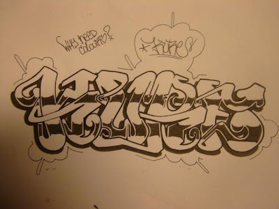 Graffiti names,Graffiti Letters