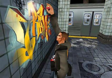 graffiti walls: Interactive Graffiti Game / Graffiti Creator
