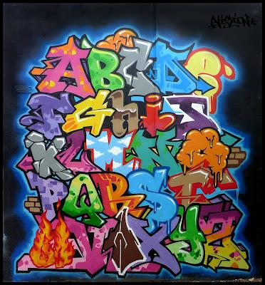 Graffiti Alphabet, Graffiti Letters,Graffiti Letters A-Z