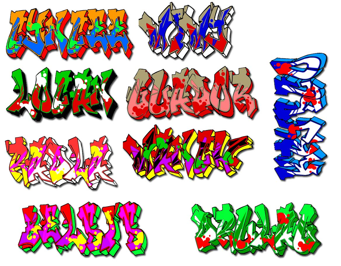 Graffiti Names | New Graffiti