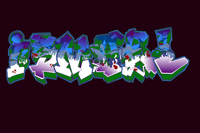 Graffitis de Nombres, Graffiti Name, Graffiti Creator