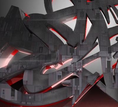 desktop wallpaper graffiti_10. Some 3D graffiti Brad