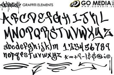 Graffiti Fonts,Fonts Graffiti