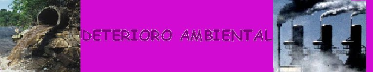 Deterioro Ambiental