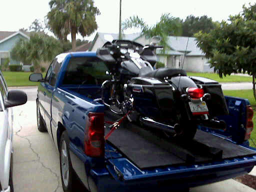 Loaded ready to go to Ky