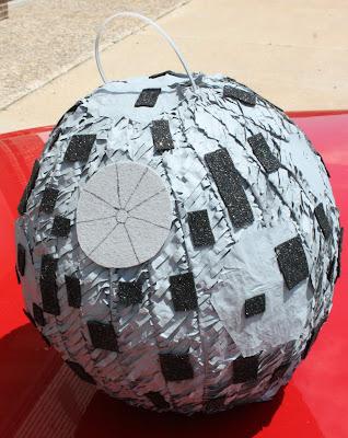how to make a paper mache star pinata