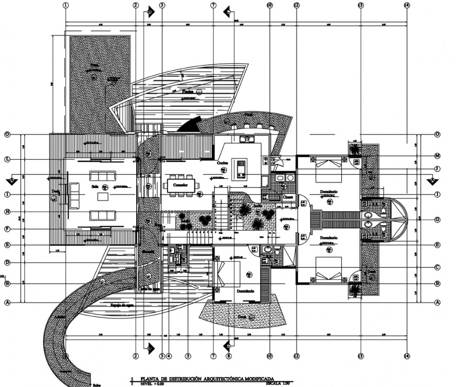 Mc1 house by robles architects housevariety for Architecture design house plans