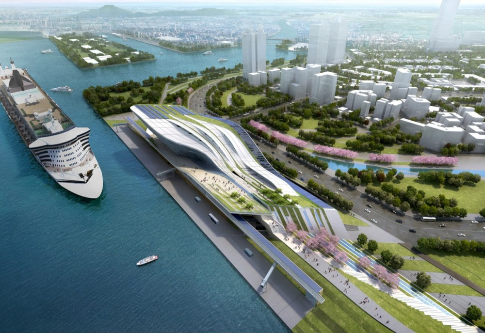 Kaohsiung Port And Cruise Service Terminal Competition