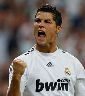 Cristiano Ronaldo With Jersey
