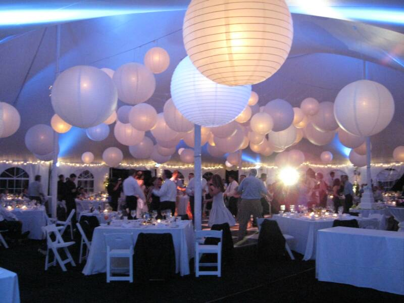 Some wedding venues may not allow wedding lanterns and there also may be