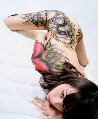 sexy image of tattoo girls