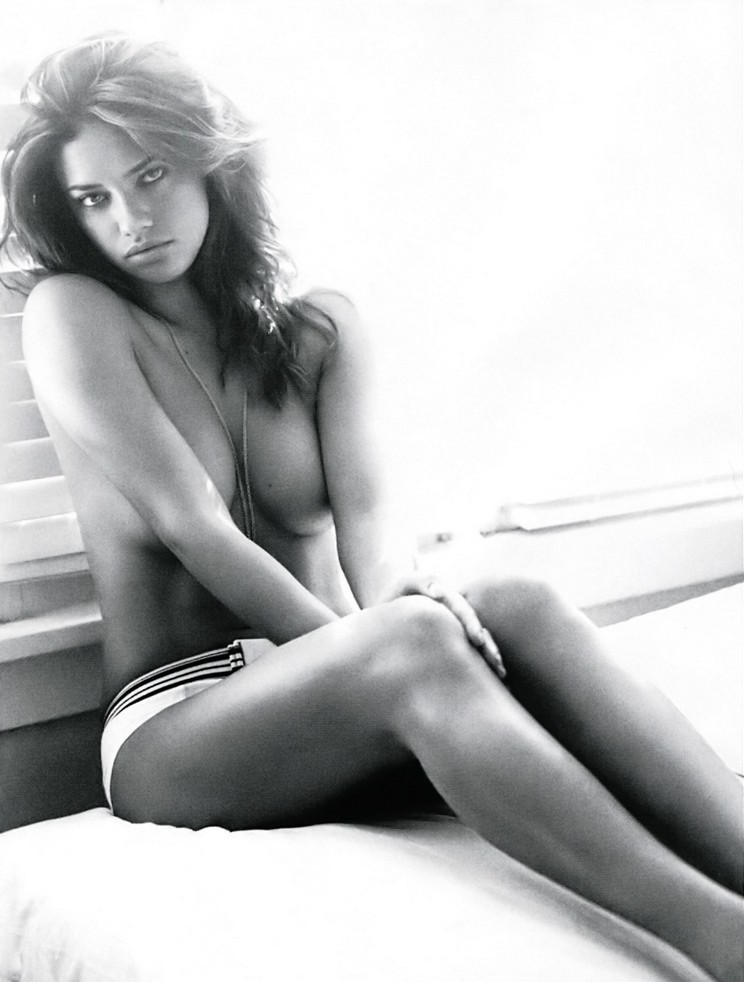 Are not adriana lima nude photo the answer