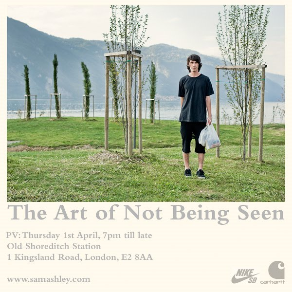 The Art of Not Being Seen Sam Ashley