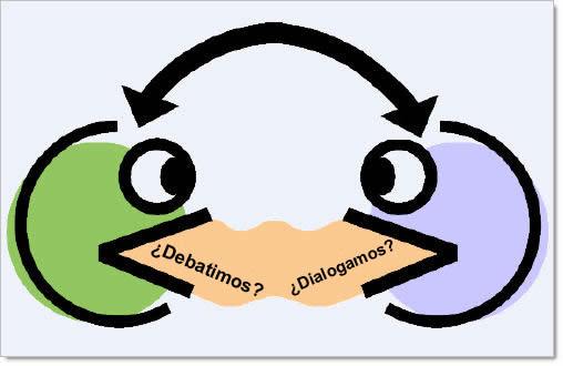 Origen de la imagen: http://2.bp.blogspot.com/_38EVfKXJcYU/TA1u22XfOlI/AAAAAAAAADU/7Mh9PPad6ho/s1600/dialogo_debate.jpg