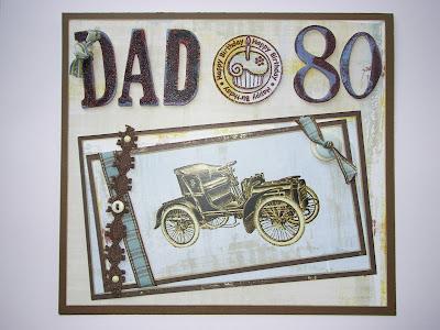 having a me day Mans 80th Birthday Card – Dad 80th Birthday Card
