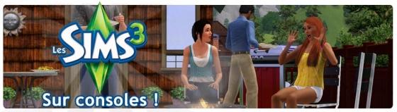 Les Sims 3, bientôt sur consoles !