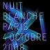 Nuit Blanche 2008 à Paris