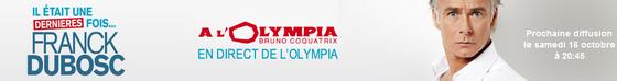 Franck Dubosc à l'Olympia en direct sur TF1