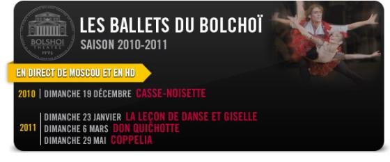 Les Ballets du Bolchoï - Pathé Gaumont