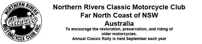 Northern Rivers Classic Motorcycle Club Inc