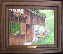 Sidedoor Spirenwald 11x14 $350 sold