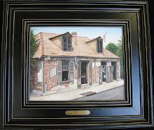 La Fette's - Bourbon St.  11x14 $350