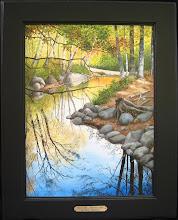 Ellis River - Andover Maine 12x16  Sold
