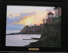 Bogliansco Sunset  12 x 16  Sold