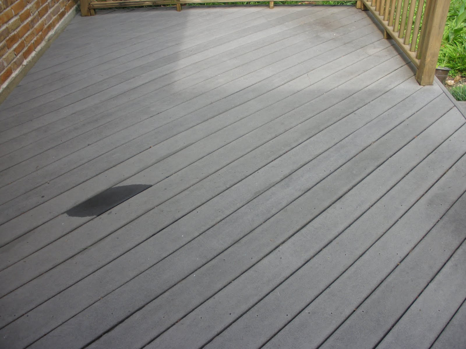 Clean And Green Solutions Cleaning A Trex Deck With Bt200