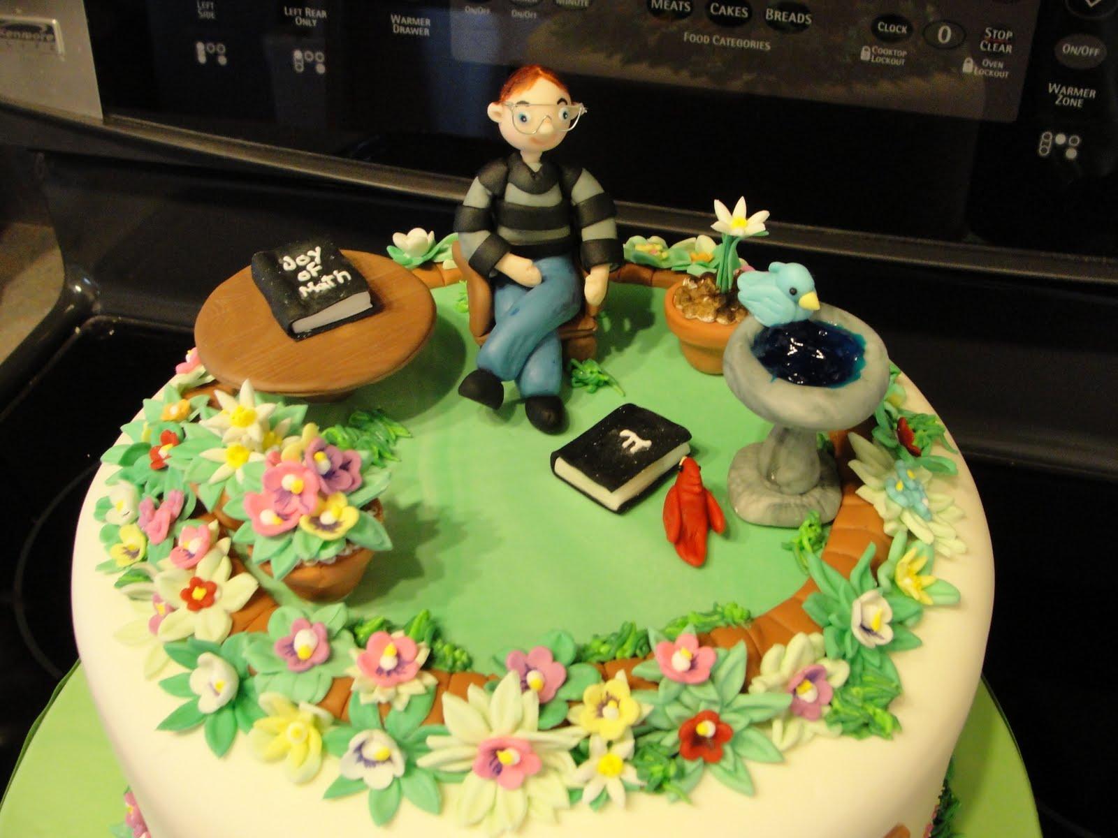 Oh, just put a cupcake in it....: Gardener/Math Teacher