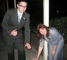 Elder Dewey and Sister Missionary