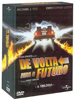 Filme Poster Trilogia De Volta Para o Futuro DVDRip RMVB Dublado