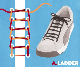 Model-Model Ikatan Tali Sepatu