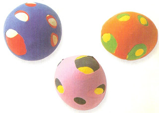 chulas manualidades pelotas de malabares