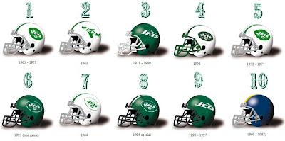 Simononsports Ranking The New York Jets Historical Helmets
