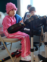 Avery Playing Rock Band